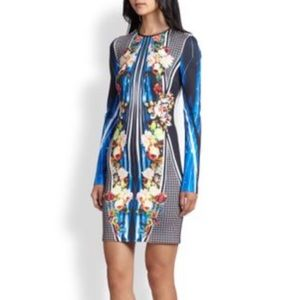 Clover Canyon Long Sleeve Neoprene Dress